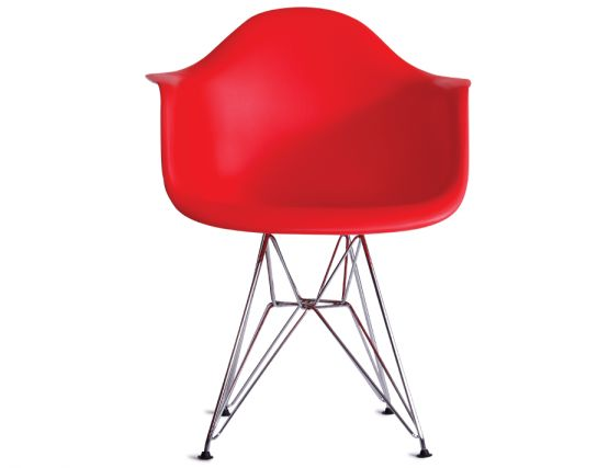Red Eames Chair With Arms