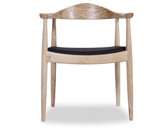Round Arm Chair Natural
