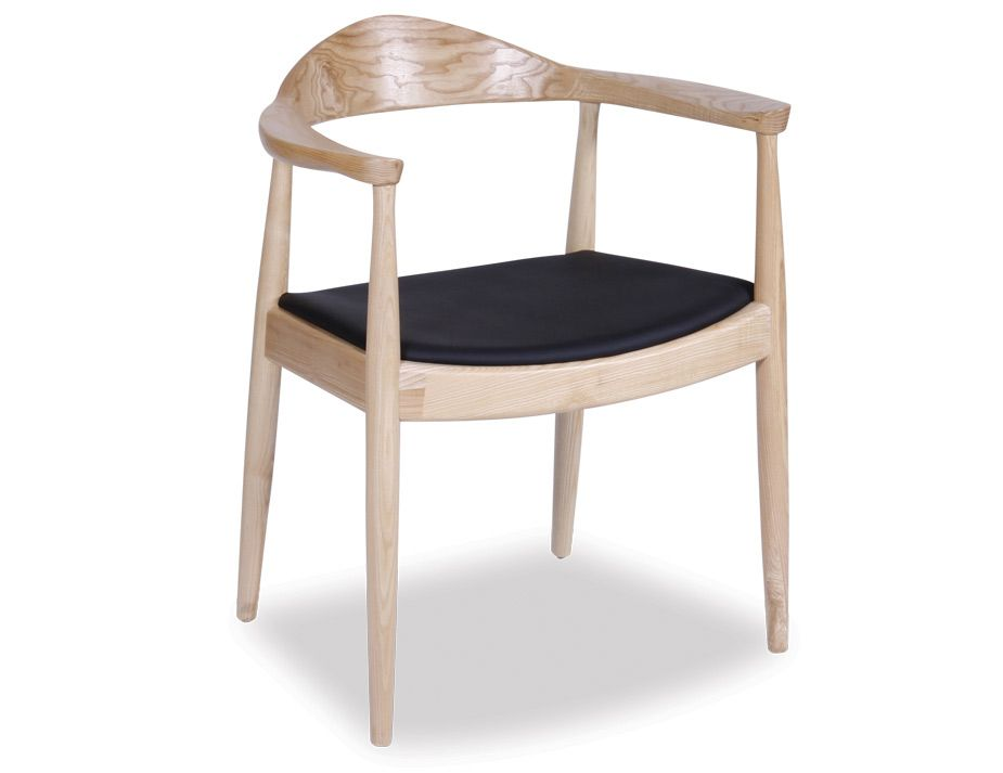Hans Wegner Round Arm Chair Natural