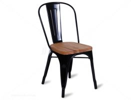 black-teak-tolix-chair