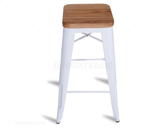 White Tolix Bar Stool Outdoor Furniture