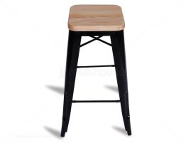 Black Tolix Bar Stool Replica