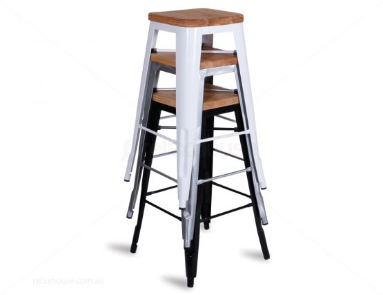 Stacking Tolix Stool