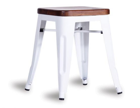 606_dark Wood Stool