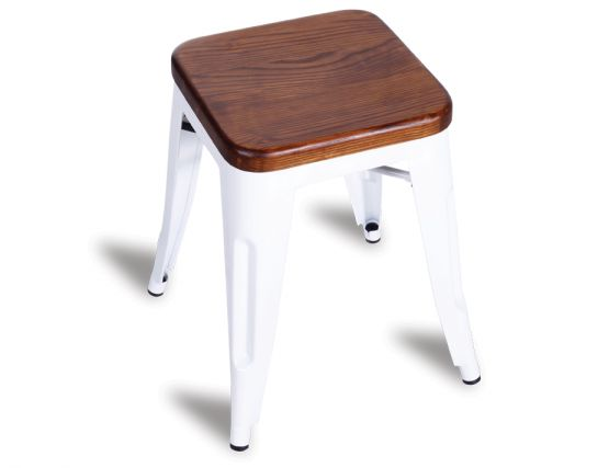 606_solid Teak Wooden Stool