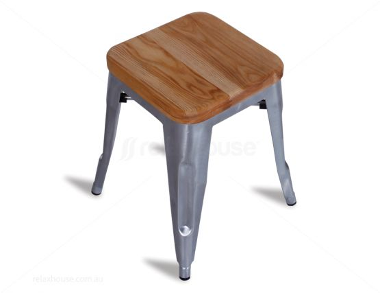 Tolix Bar Stool Metal Finsih