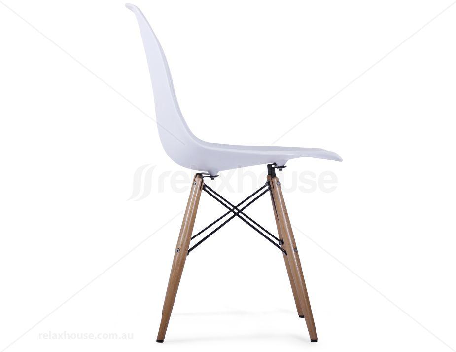 White Eames Eiffel Dsw Chair Replica