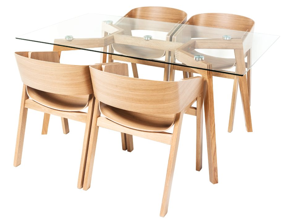 Merano With Similda Glass Table