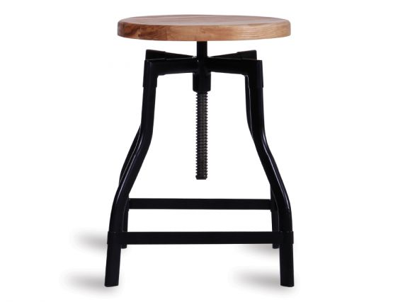 Adjustable Stool Black