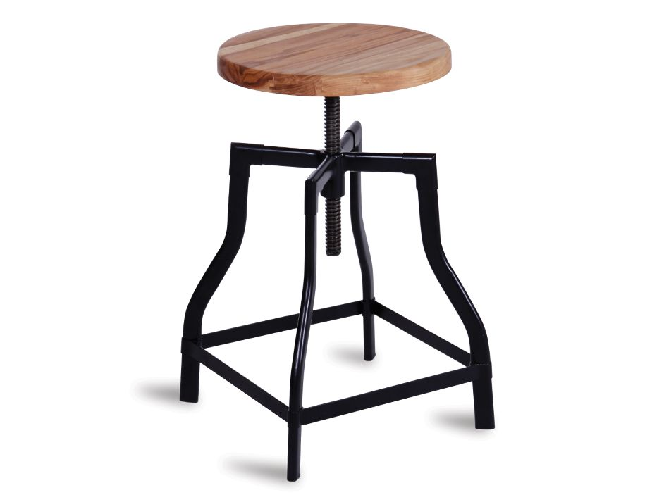 Turner Stool Black
