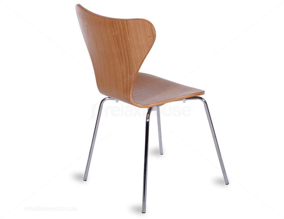 Arne Jacobsen Series 7 Chair Replica - Natural