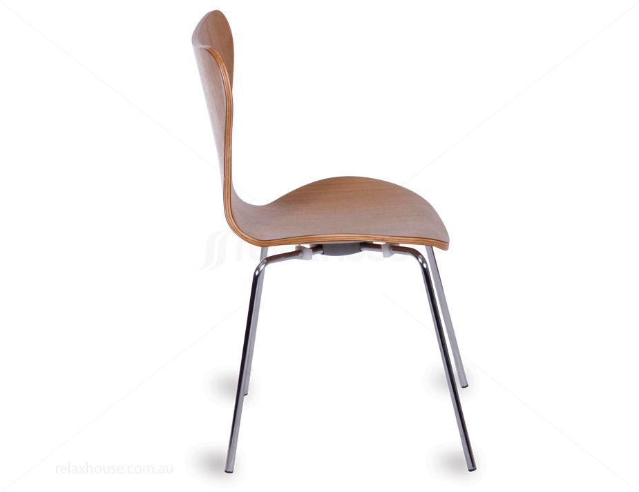 Arne Jacobsen Series 7 Chair Replica Natural