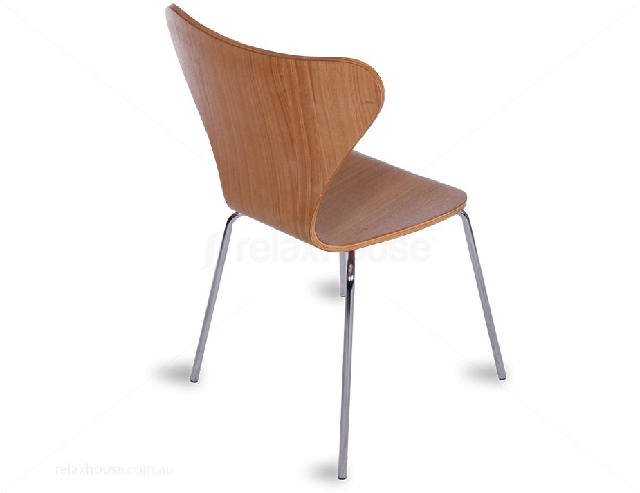 Arne Jacobsen Series 7 Chair Replica Natural