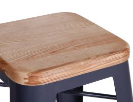 grey-stool-teak-wood-top