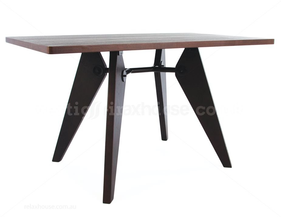 jean prouve gueridon dining table replica. Black Bedroom Furniture Sets. Home Design Ideas