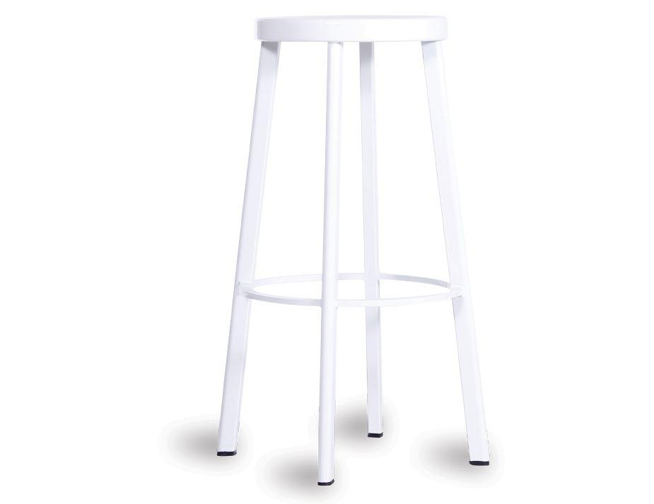 Deja Vu Bar Stool White 75cm Replica Magis