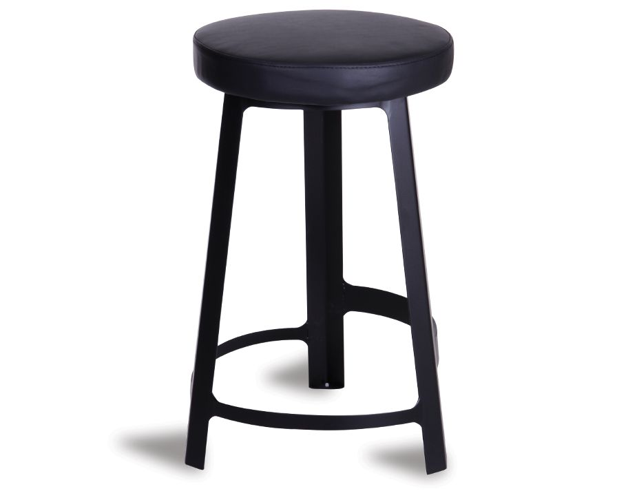 Modern Designer Bar Stool Black