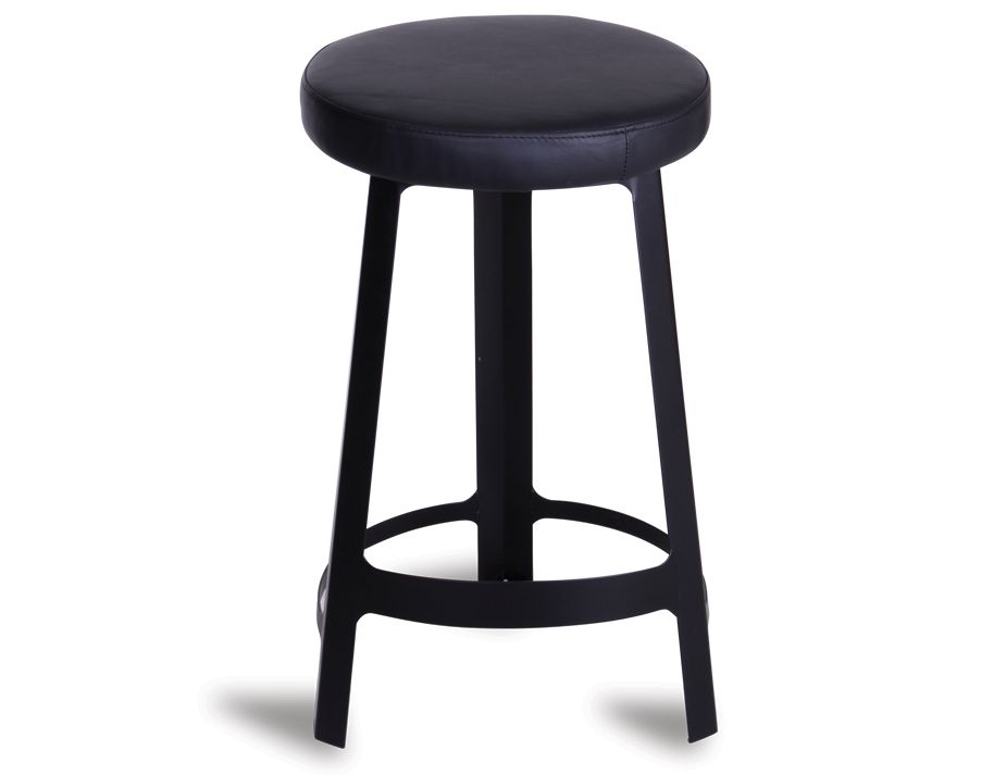Sean Dix Factory Stool Black
