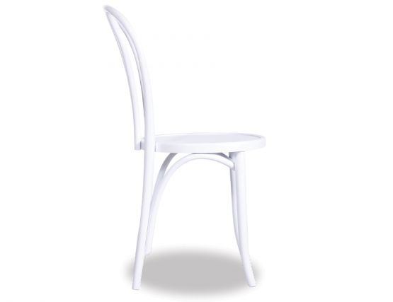 Thonet White Dining Chair