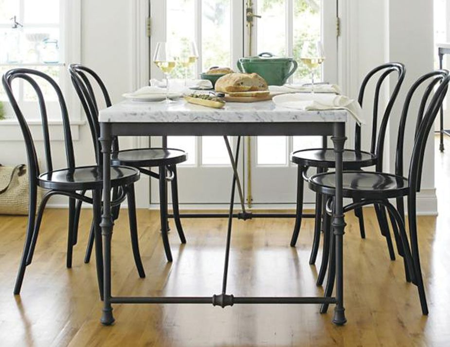 Black Bentwood Chair Setting