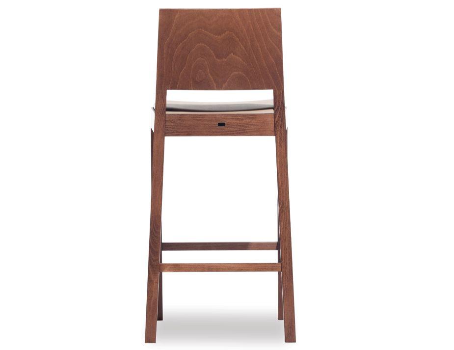 Lyon Upholstered Walnut Bar Stool with Pad : walnut designer stool from www.relaxhouse.com.au size 925 x 713 jpeg 31kB
