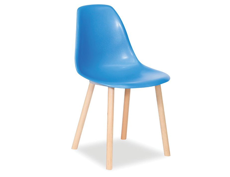 Blue Modern Dining Chair