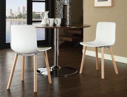 Hal Wood Sc Side Chair Replica Solid Wood Legs