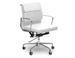 white-Managment-office-chairs