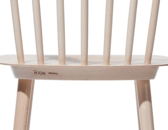 Ironica Chair Designer Natural Wood