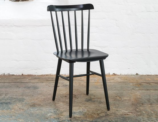 Ironica Black Dining Chair