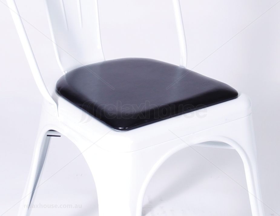 Tolix Chair Cushion Seat Pad Black