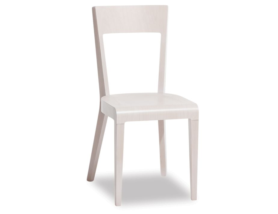 Era Whitewash Beechwood Timber Dining Chair Ton Cz Original