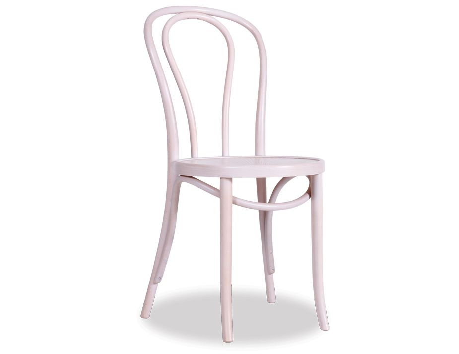 A18 Chair Whitewash Bentwood Seat Whitewash White Wash Thonet Chair ...