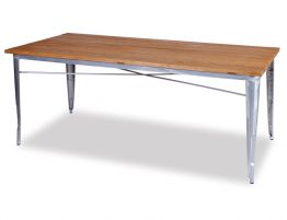 Tolix-Table-190cm-Galvanised