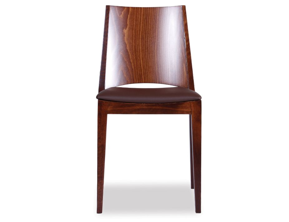 Stackable Bistro Dining Chair With Padded Seat