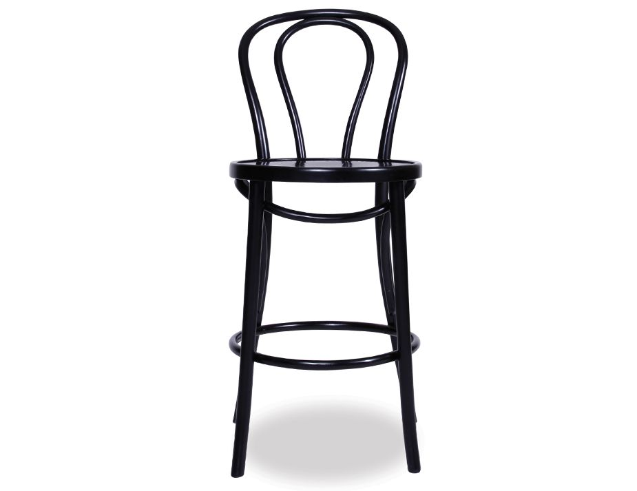 Black Thonet Bar Stool Thonet Bar Stool93