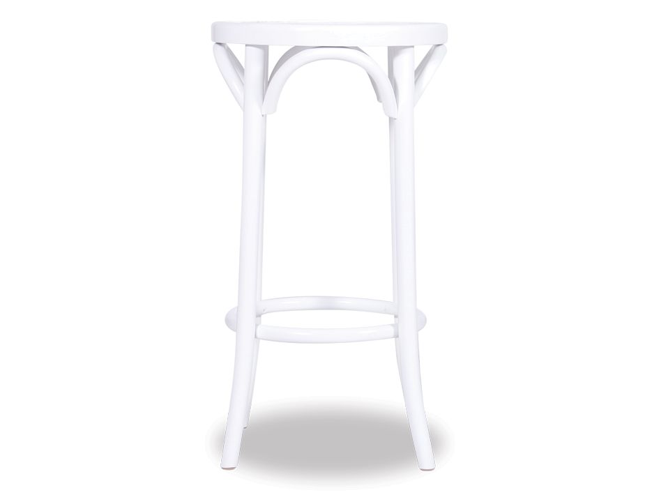 Bentwood Stool White Awesome