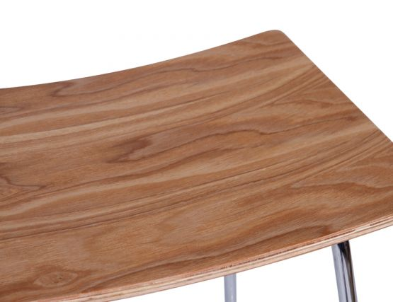 Wooden Bar Stool Seat