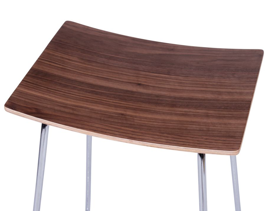 Walnut Kitchen Stool