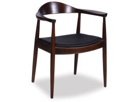 hans-wegner-round-arm-chair-dark-brown