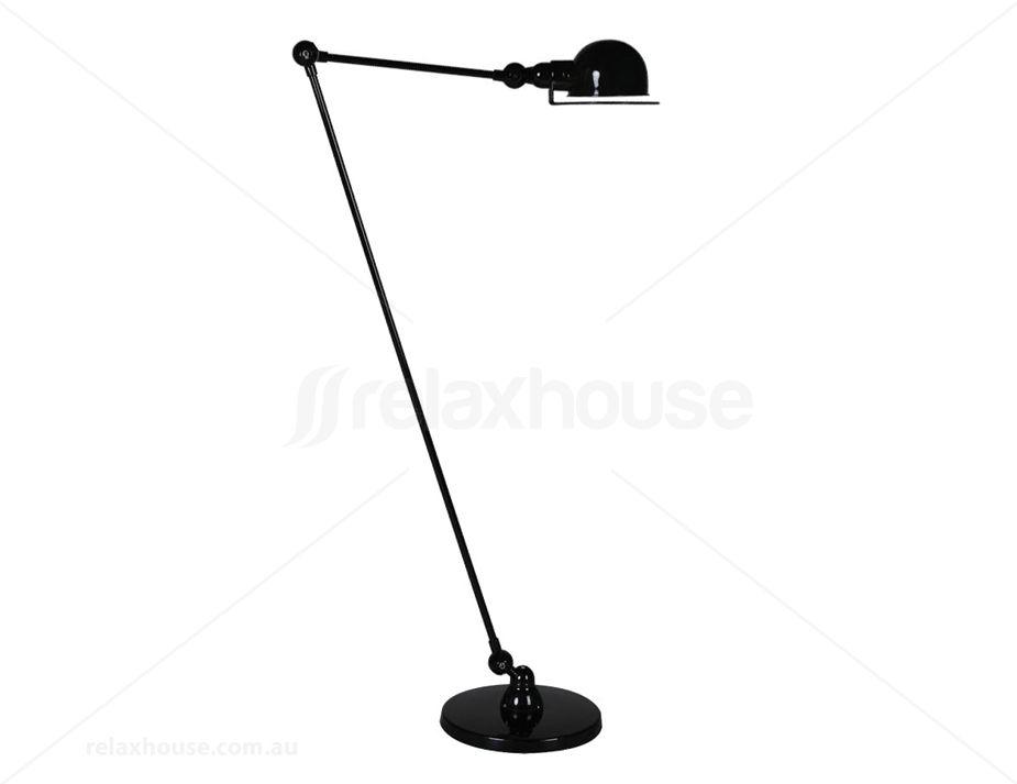 Replica Jielde Loft Floor Lamp - Black
