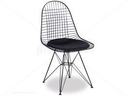 Eames DKR Chair Black W Black