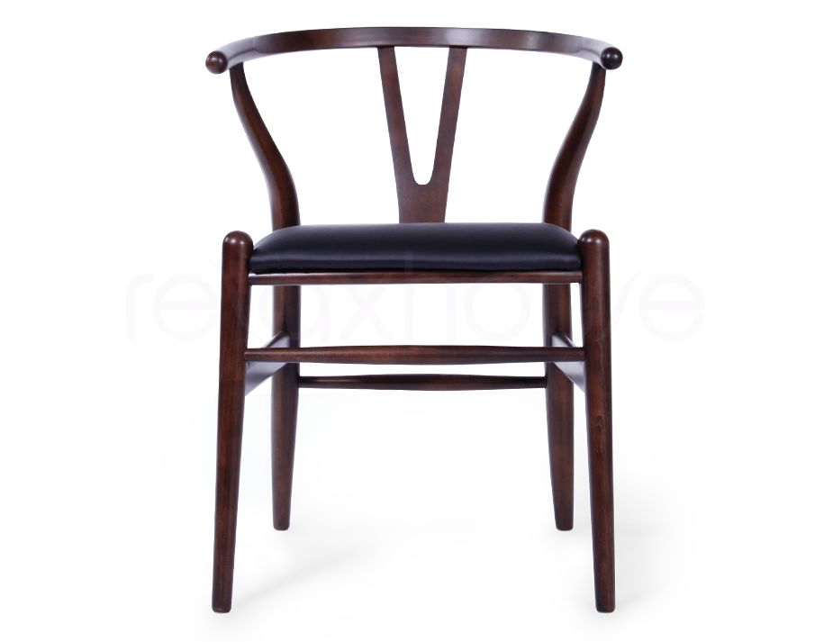 Hans Wegner Wishbone Chair Dark Beech_1 Hans Wegner Wishbone Chair Dark  Beech_2 ...