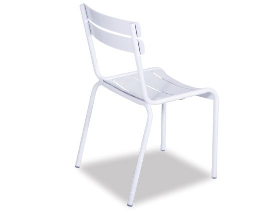 White Cheap Metal Chair