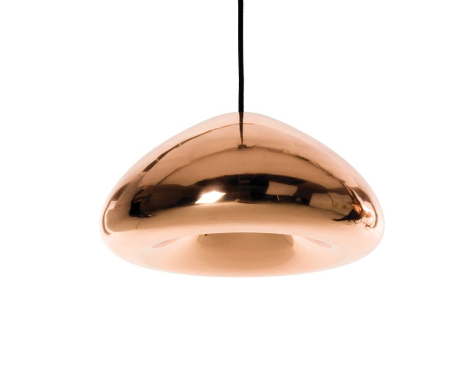 tom dixon copper void pendant light replica. Black Bedroom Furniture Sets. Home Design Ideas