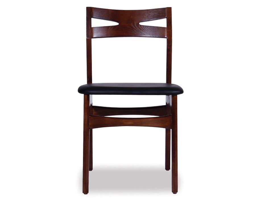 Danish laak dark american ash timber dining chair for Furniture of america architectural inspired dark espresso coffee table