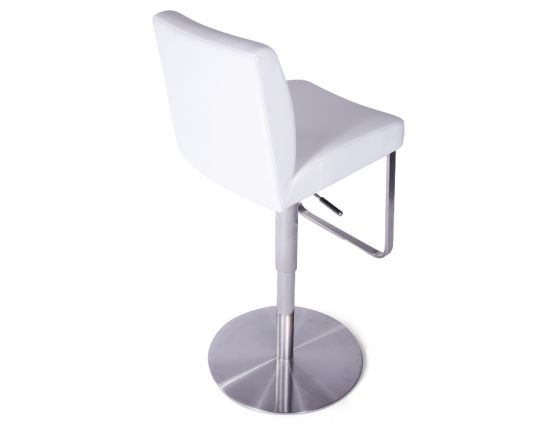 Kaz Steel Bar Stool White4