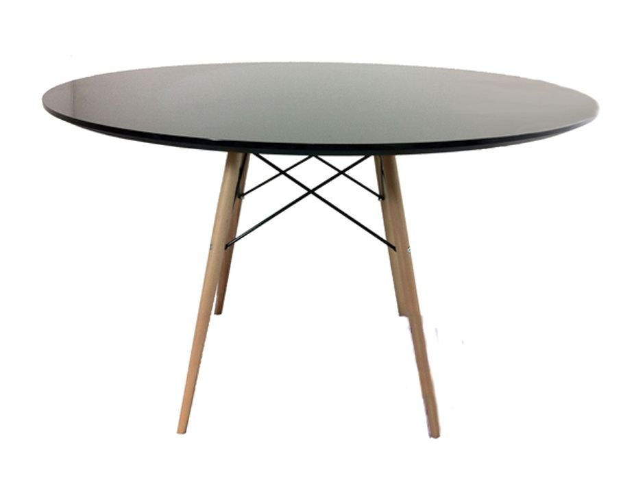 replica eames dsw round dining table 120cm relax house. Black Bedroom Furniture Sets. Home Design Ideas