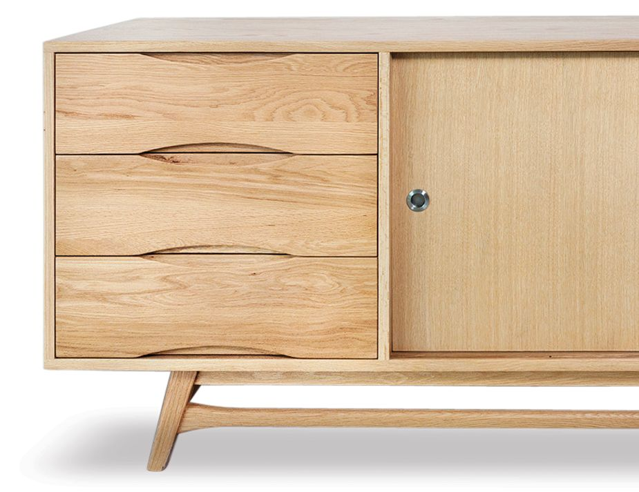 Soborg Retro Oak Sideboard