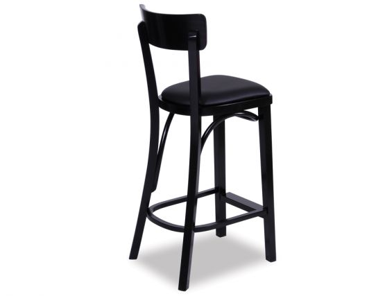 Thonet Stool Black
